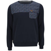 Weekend Offender Men's Kloss Paisley Sweatshirt - Navy