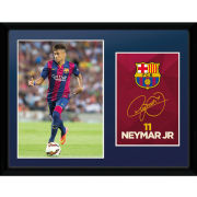 Barcelona Neymar 14/15 - 16 x 12 Framed Photgraphic