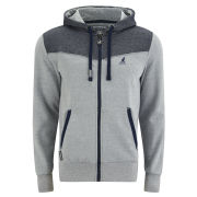 Kangol Men's Basset Hoody - Grey Grindle