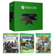 Xbox One Console - Includes Assassins Creed Unity, Sunset Overdrive & Minecraft