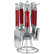 Morphy Richards Accents 4 Piece Gadget Set - Red