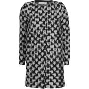 Charlotte Taylor Women's Peacoat Coat - Black