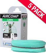 Michelin Aircomp Latex Road Inner Tube - Pack of 5