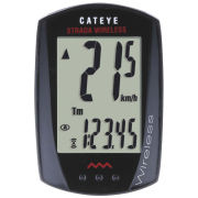 Cateye Strada Wireless 8 Cycle Computer - Black