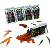 Hot-Headz! Who Dares Burns! Peanuts - Super Hot Naga Chilli Coated Peanuts
