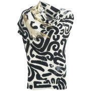 Vivienne Westwood Anglomania Women's Mosaic Top - Black Maze