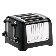 Dualit 46215 4 Slot Lite Toaster - Metallic Black