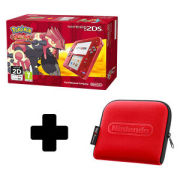 Nintendo 2DS Transparent Red + Pokémon Omega Ruby