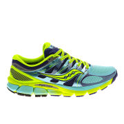 Saucony Women's Zealot ISO Running Shoes - Blue/Blue/Yellow