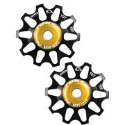 Token Alloy Campagnolo Tiramic Bicycle Jockey Wheels