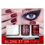 nails inc. Bling It On Ruby