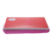 Mini Dots Laptray - Pink and Red