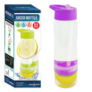Juice Twist Water Bottle - Purple