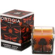 Ambra Nera Square Candle