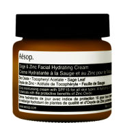 Sage & Zinc Facial Hydrating Cream SPF15 60ml