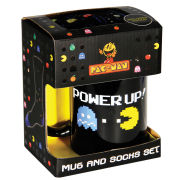 Pac-Man Power Up Mug & Socks Set