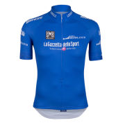 Santini Giro d'Italia 2015 King of the Mountain Short Sleeve Jersey - Blue