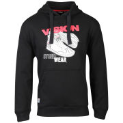 Vision Men's Sneaker Hoody - Black