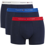 Tommy Hilfiger Men's Seymour Trunks 3-Pack - Peacoat