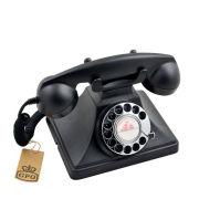 GPO 200 Classic Retro Rotary Dial Telephone - Black