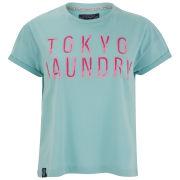 Tokyo Laundry Women's Millie T-Shirt - Pastel Turq