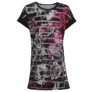 Damned Delux Women's Scribble Tee - Multi