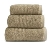Dreamscene 100% Egyptian Cotton 3 Piece Towel Bale (550gsm) - Latte