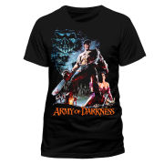 Army of Darkness Men's T-Shirt - Smoking Chainsaw