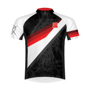Primal Outline Short Sleeve Jersey - Black/White/Red
