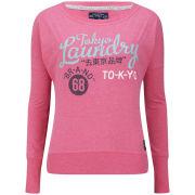 Tokyo Laundry Women's Sally Sweatshirt - Shocking Pink Marl