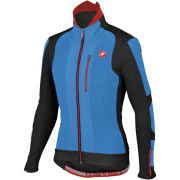 Castelli Elemento 7x(Air) Jacket - Drive Blue/Black