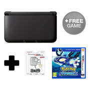 Nintendo 3DS XL Black Pokémon Alpha Sapphire Pack