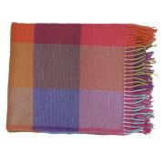 Avoca Cashmere Silken Throw (142 x 183cm) - Multi