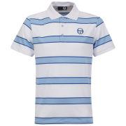 Sergio Tacchini Men's Coniston Pique Polo-Shirt -White