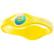 Power Balance -The Original Performance Wristband   Neon Yellow With White Lettering