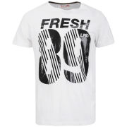 Boxfresh Men's Liamet Graphic Print T-Shirt - White
