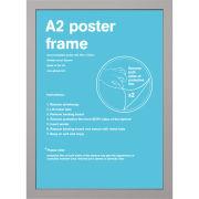 Silver Frame A2