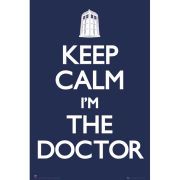 Doctor Who Keep Calm - Maxi Poster - 61 x 91.5cm