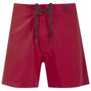 WAXX Men's Red Beach Swim Shorts - Red