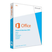 Microsoft Office Home and Business 2013 - License Card, 1 User