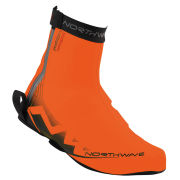 Northwave Men's H20 Winter High Shoe Cover - Fluorescent Orange/Black