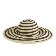 Paul Smith Accessories Women's Ribbon Sun Hat - Black