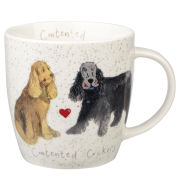 Alex Clark Squash Mug Delight Dog Spaniel - Multi