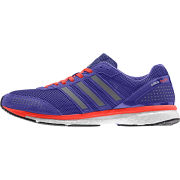 adidas Men's Adizero Adios Boost 2 Running Shoes - Purple/Silver