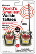 World's Smallest Walkie Talkie