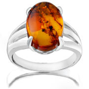 OVAL AMBER RING- PU650 R