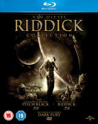 The Riddick Collection: Pitch Black, The Chronicles of Riddick: Dark Fury and The Chronicles of Riddick