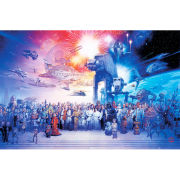 Star Wars Complete Cast - Maxi Poster - 61 x 91.5cm