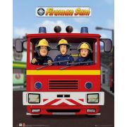 Fireman Sam Jupiter - Mini Poster - 40 x 50cm