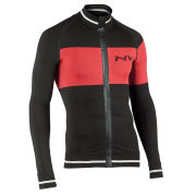 Northwave Men's Extreme Tech Plus Long Sleeve Seamless Jersey - Black/Red